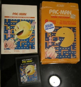 Pac-Man for Atari 2600 picked up in Florida