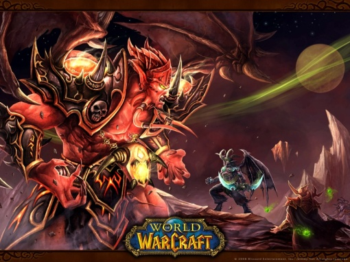 Kil'jaeden and Illidan
