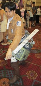Attack on Titan was one of the most popular cosplay